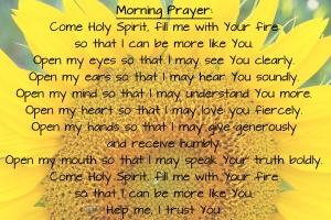 morning prayer 4x6