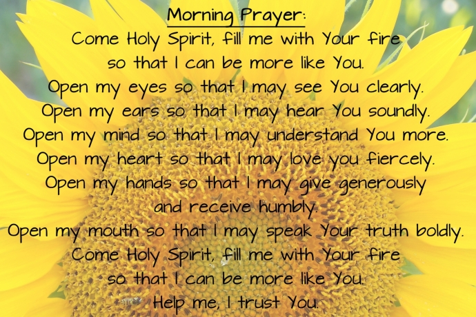 morning prayer 4x6