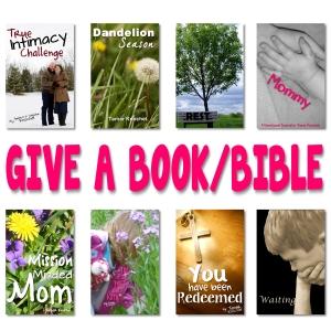 Give a book bible button