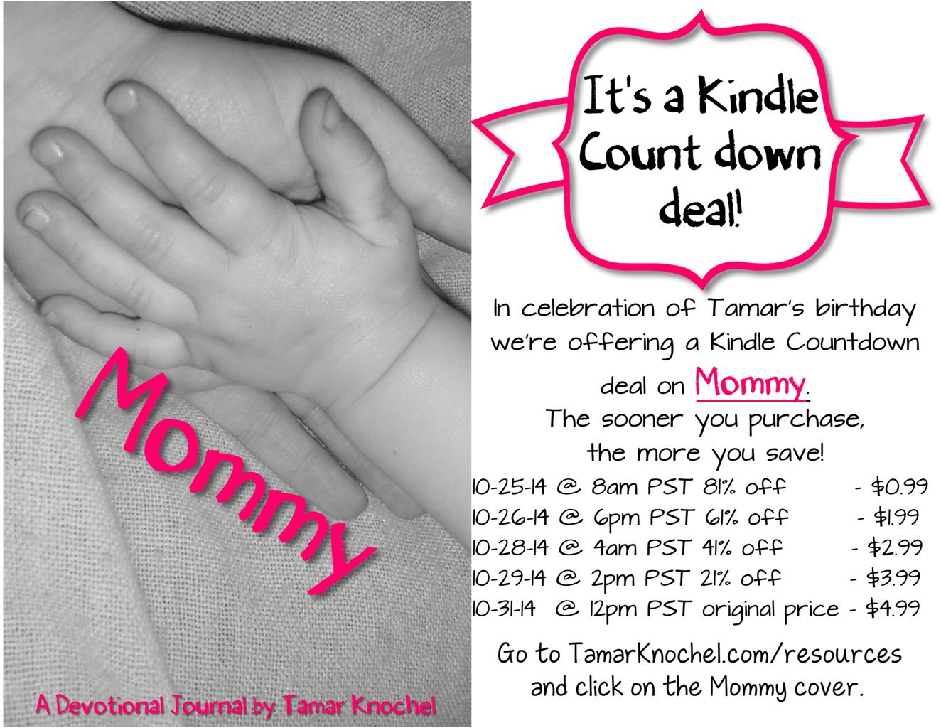 Book Signing & Kindle Countdown Deal | Tamar Knochel